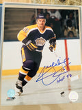 Marcel Dionne signed hockey photo with COA
