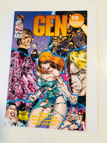 Gen 13 limited edition #1 comic book 1994