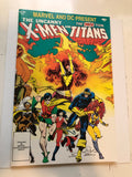 X-Men and New Teen Titans special issue comic 1982