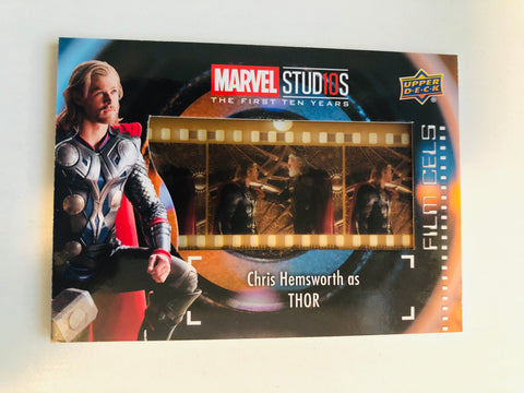 Thor movie film cel memorabilia upperdeck insert-card
