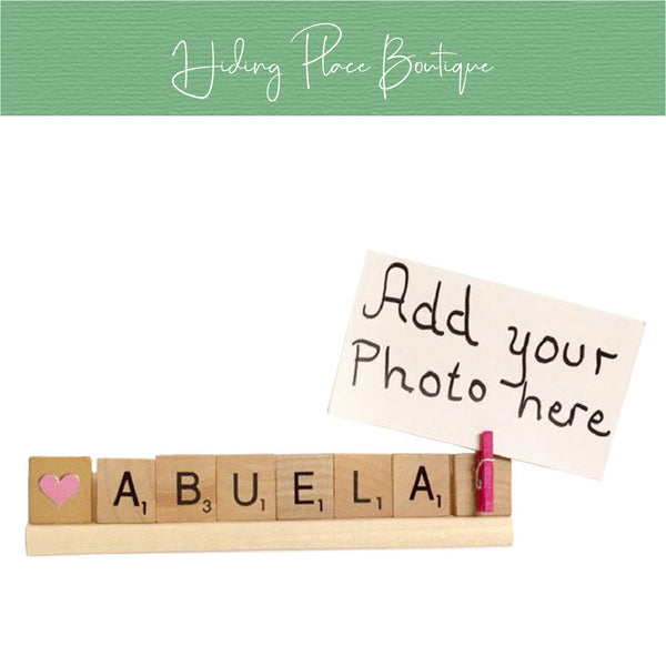 Abuela Photo Holder