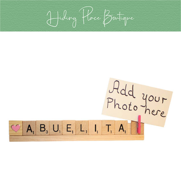 Abuelita Photo Holder