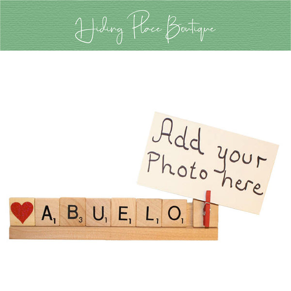 Abuelo Photo Holder
