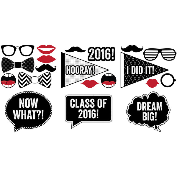 Graduation Photo Props - DIY Printables