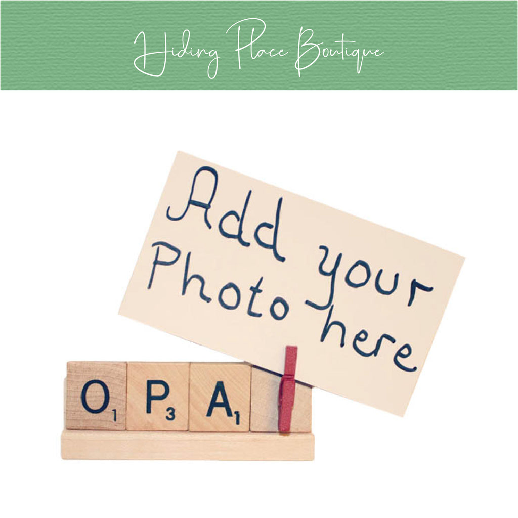 Opa Photo Holder