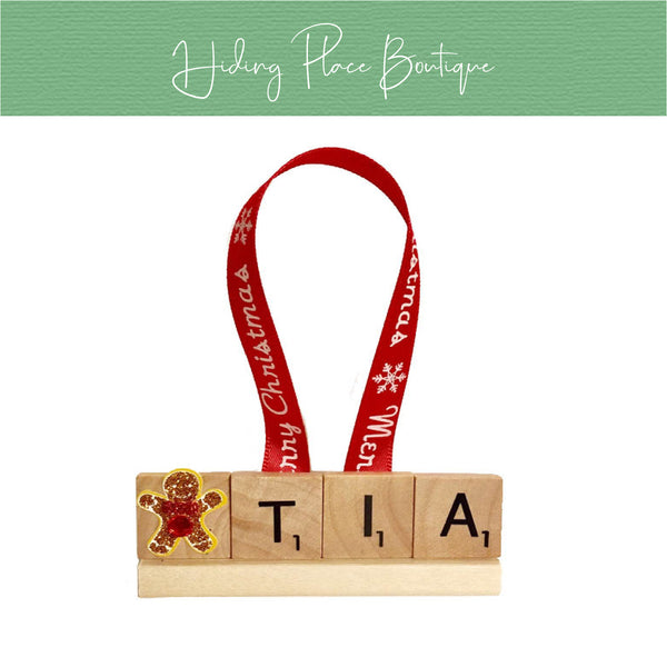 Tia Christmas Ornament
