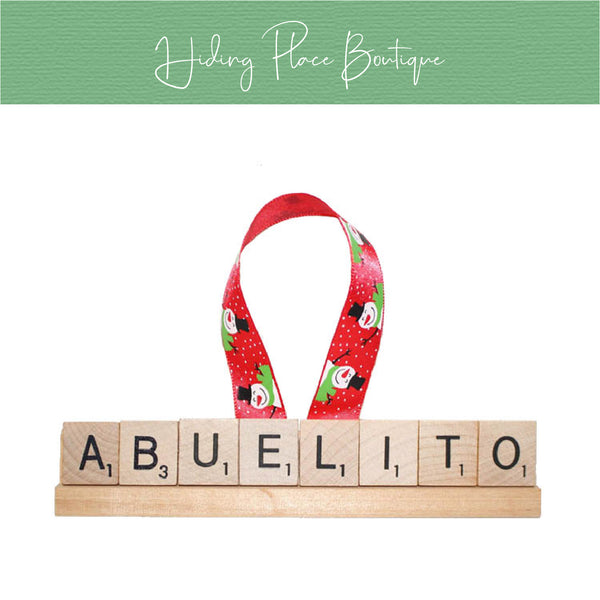 Abuelito Christmas Ornament