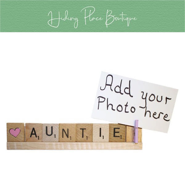 Auntie Photo Holder