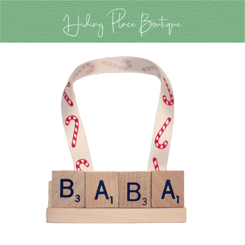 BaBa Christmas Ornament