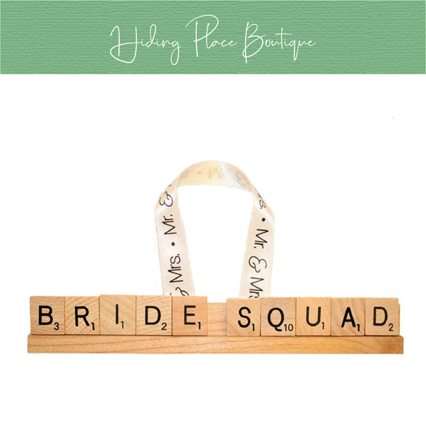 Bride Squad Christmas Ornament