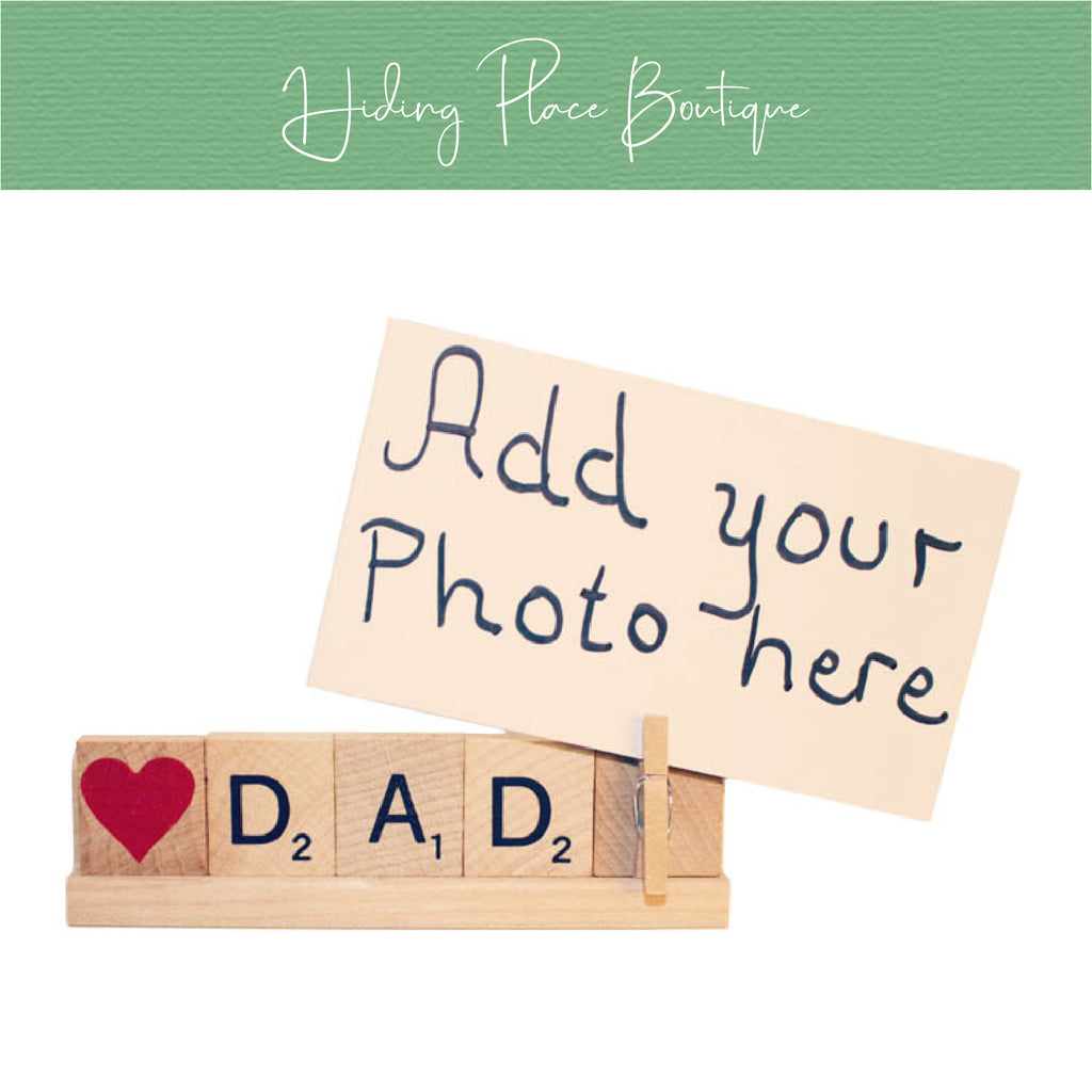 Dad Photo Holder