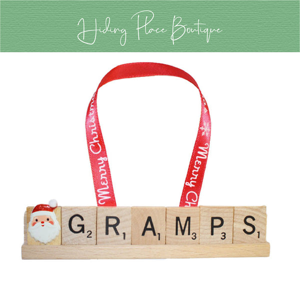 Gramps Christmas Ornament
