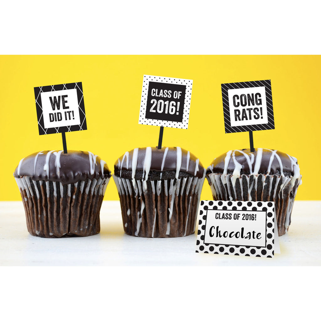 Graduation Food Labels - DIY Printables