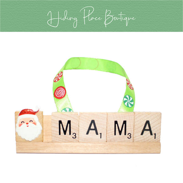 MaMa Christmas Ornament