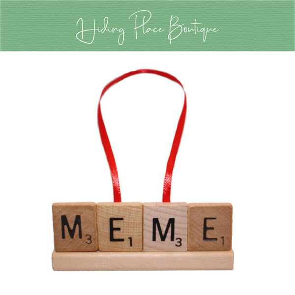 Meme Christmas Ornament