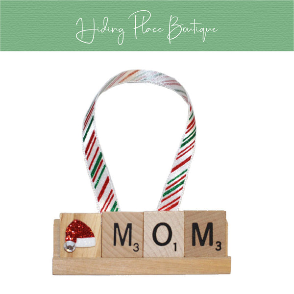 Mom Christmas Ornament