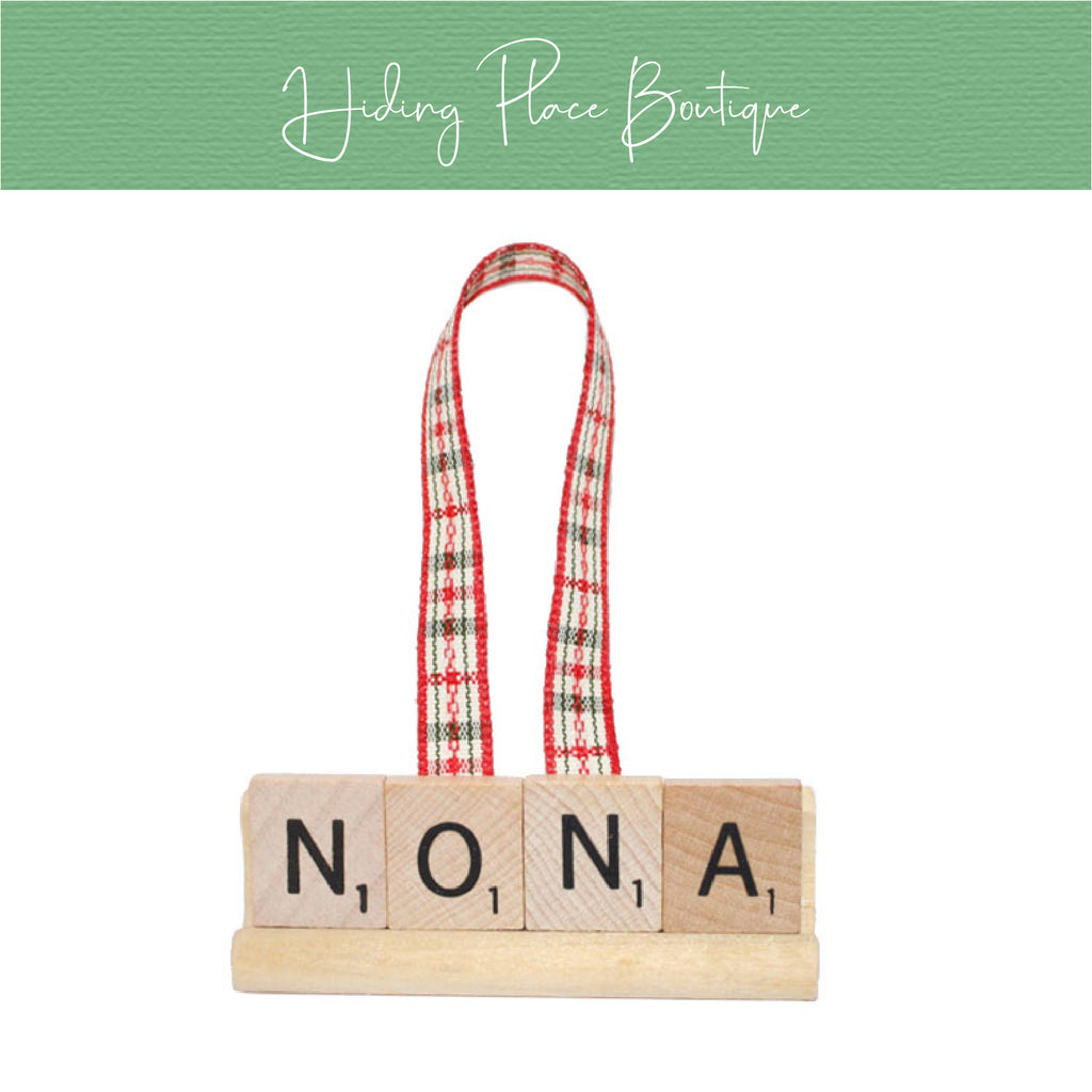 NoNa Christmas Ornament