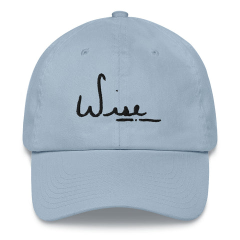 BLK Wise Dad Hat