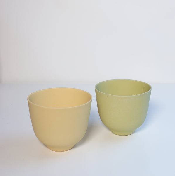 January Bowl Set - Yellow and Green