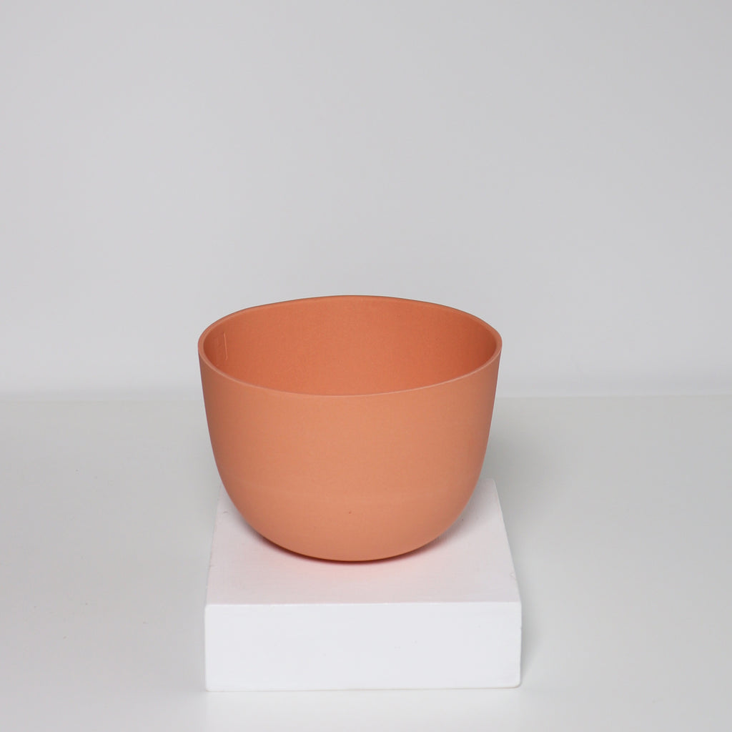 Medium Jupiter Pot/Planter - Bolsa Chica Orange