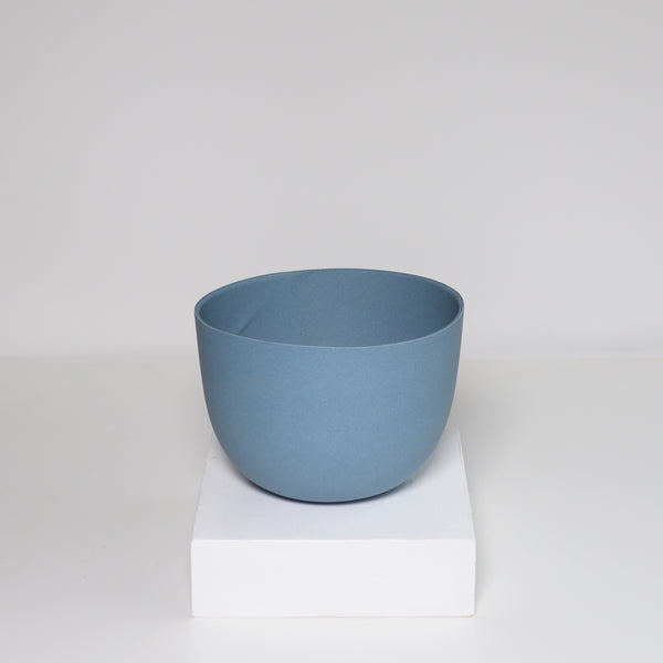 Medium Jupiter Pot/Planter - Indigo Blue
