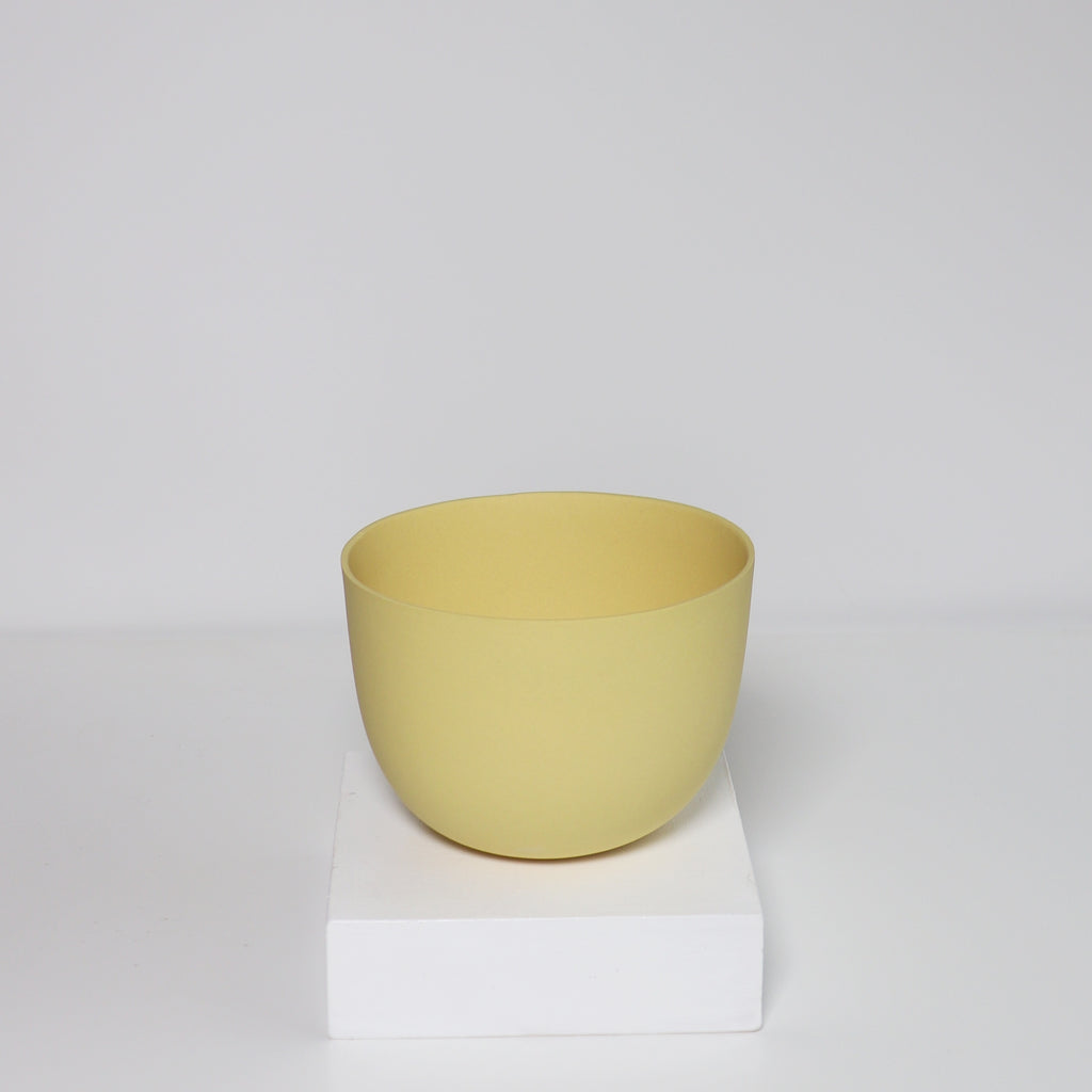 Medium Jupiter Pot/Planter - Hannah Banana Yellow