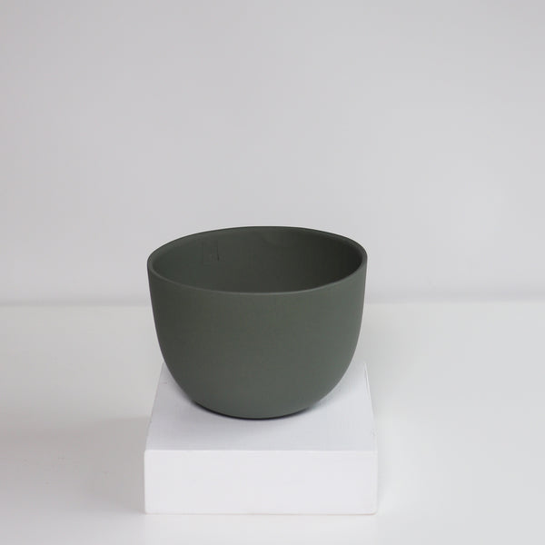 Medium Jupiter Pot/Planter - Heath Green