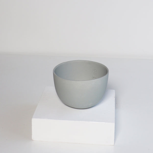 Small Jupiter Pots/Planters - Light Grey Blue