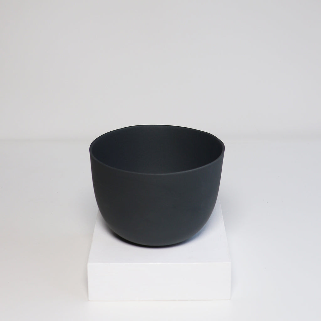 Medium Jupiter Pot/Planter -Onyx Black