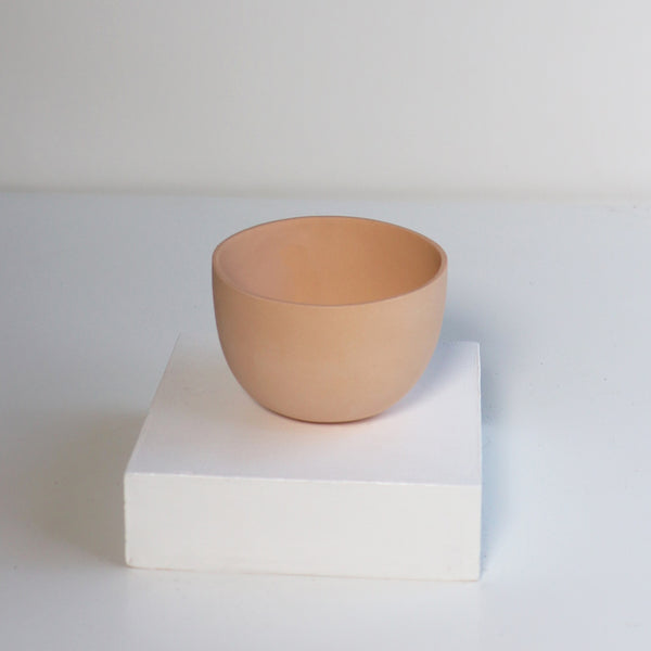 Small Jupiter Pots/Planters - Orange Sorbet