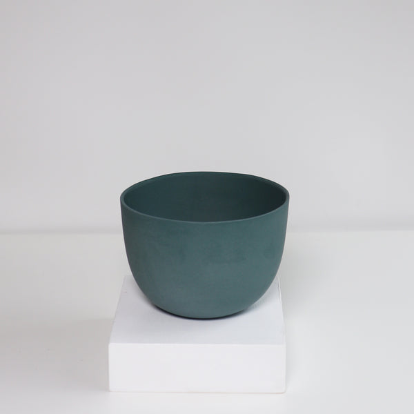 Medium Jupiter Pot/Planter - Peacock Green