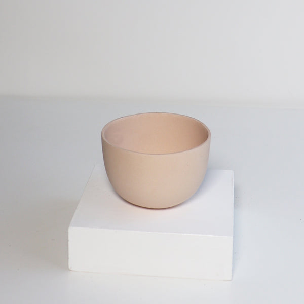 Small Jupiter Pots/Planters - Pink Ground