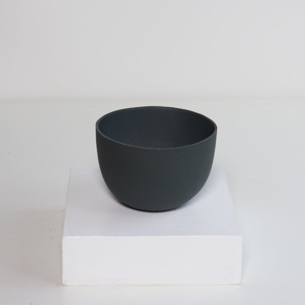 Small Jupiter Pots/Planters - Slate Grey