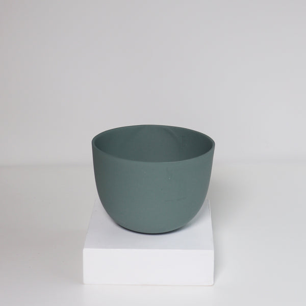 Medium Jupiter Pot/Planter - Sunland Green