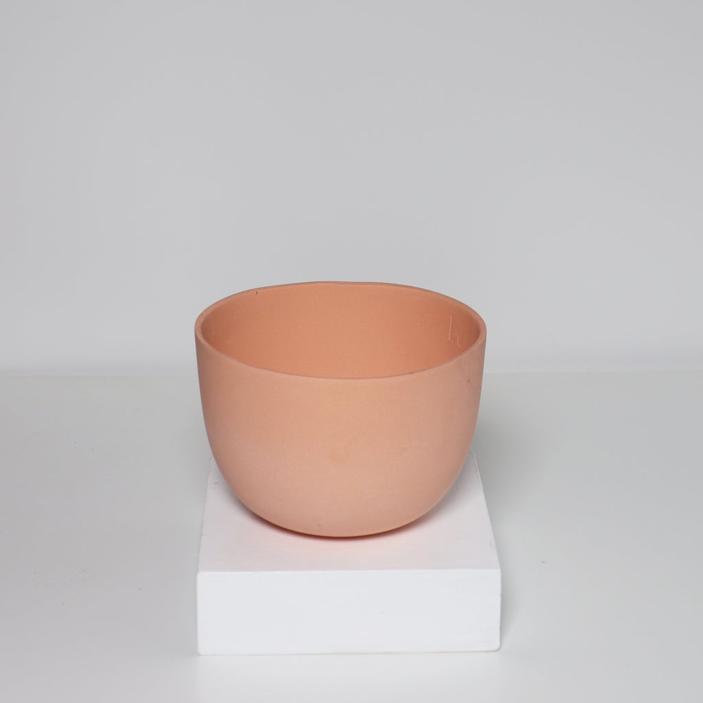 Medium Jupiter Pot/Planter - Tangerine