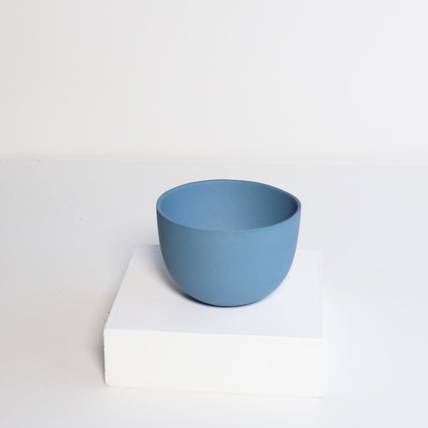 Small Jupiter Pots/Planters -Tedesco Blue