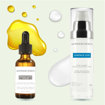 TRY FOR FREE ALPHA BRIGHT SERUM + SURFACE [CR]