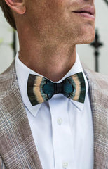 HEMLOCK FEATHER BOW TIE