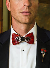 CHEHAW FEATHER BOW TIE