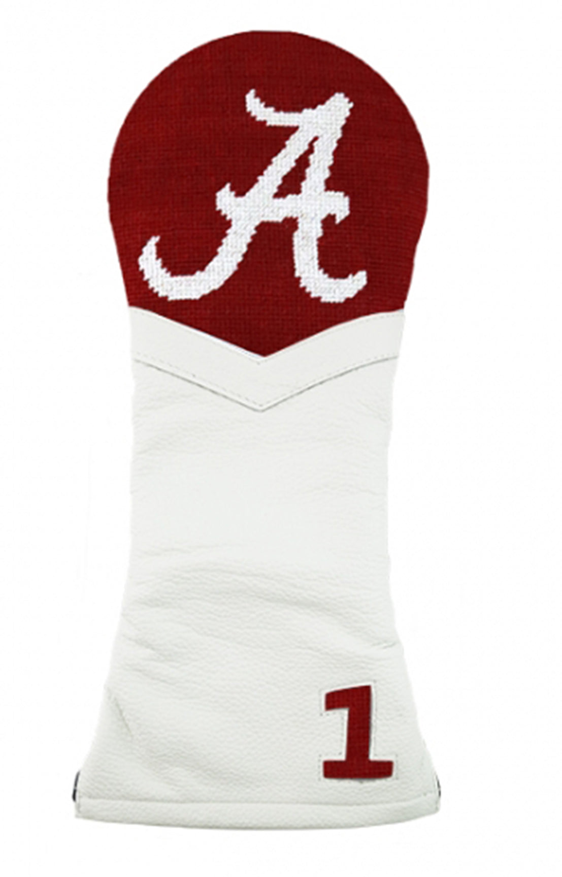 ALABAMA DRIVER HEAD COVER - GARNET/WHITE LEATHER