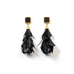 PARADES FEATHER EARRINGS