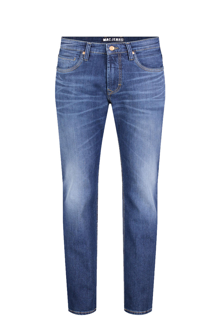 ARNE PIPE DENIM FLEXX JEANS - HEAVY AUTHENTIC WASH