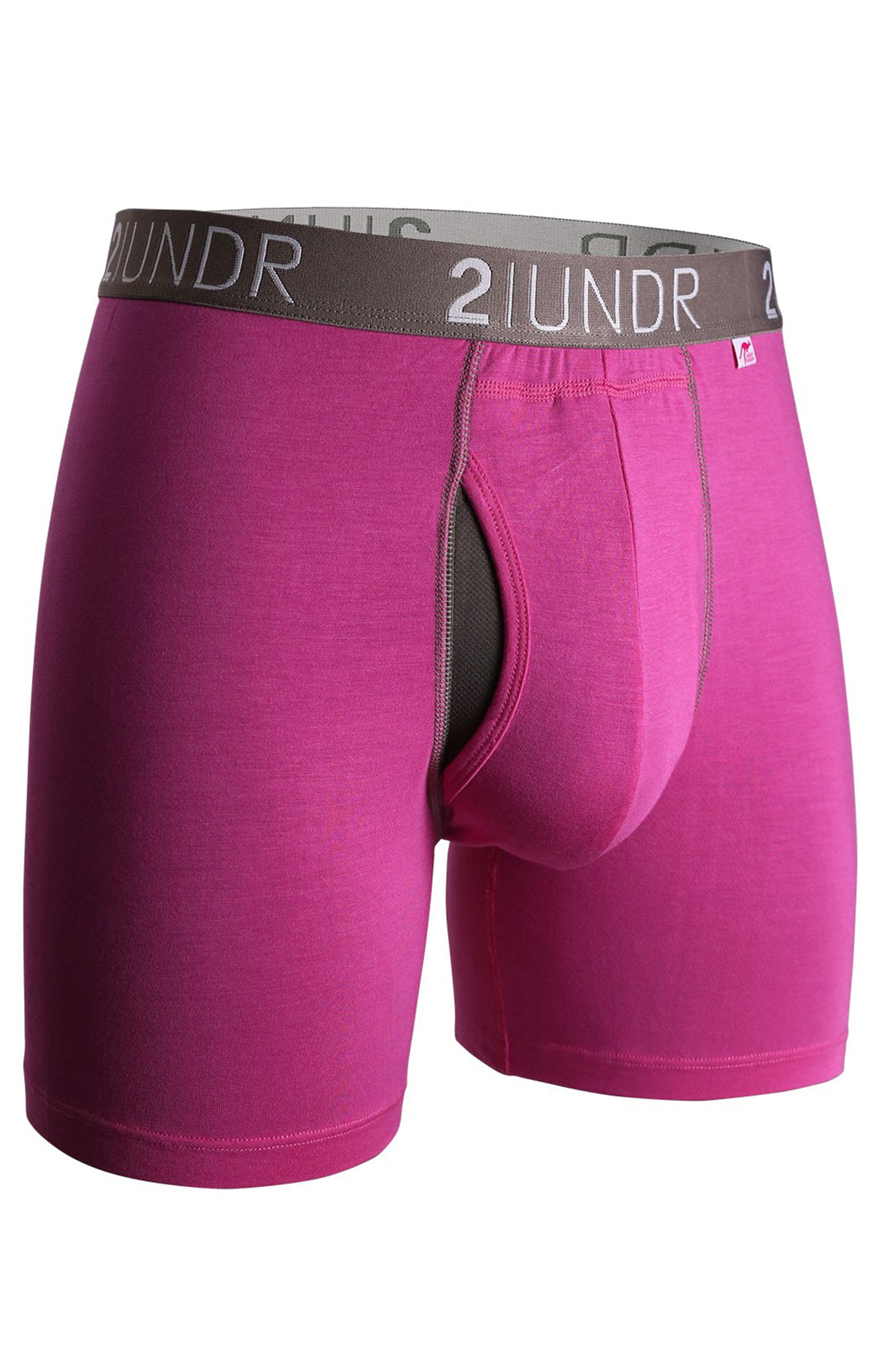 "SWING SHIFT 6"" BOXER BRIEF - PINK"