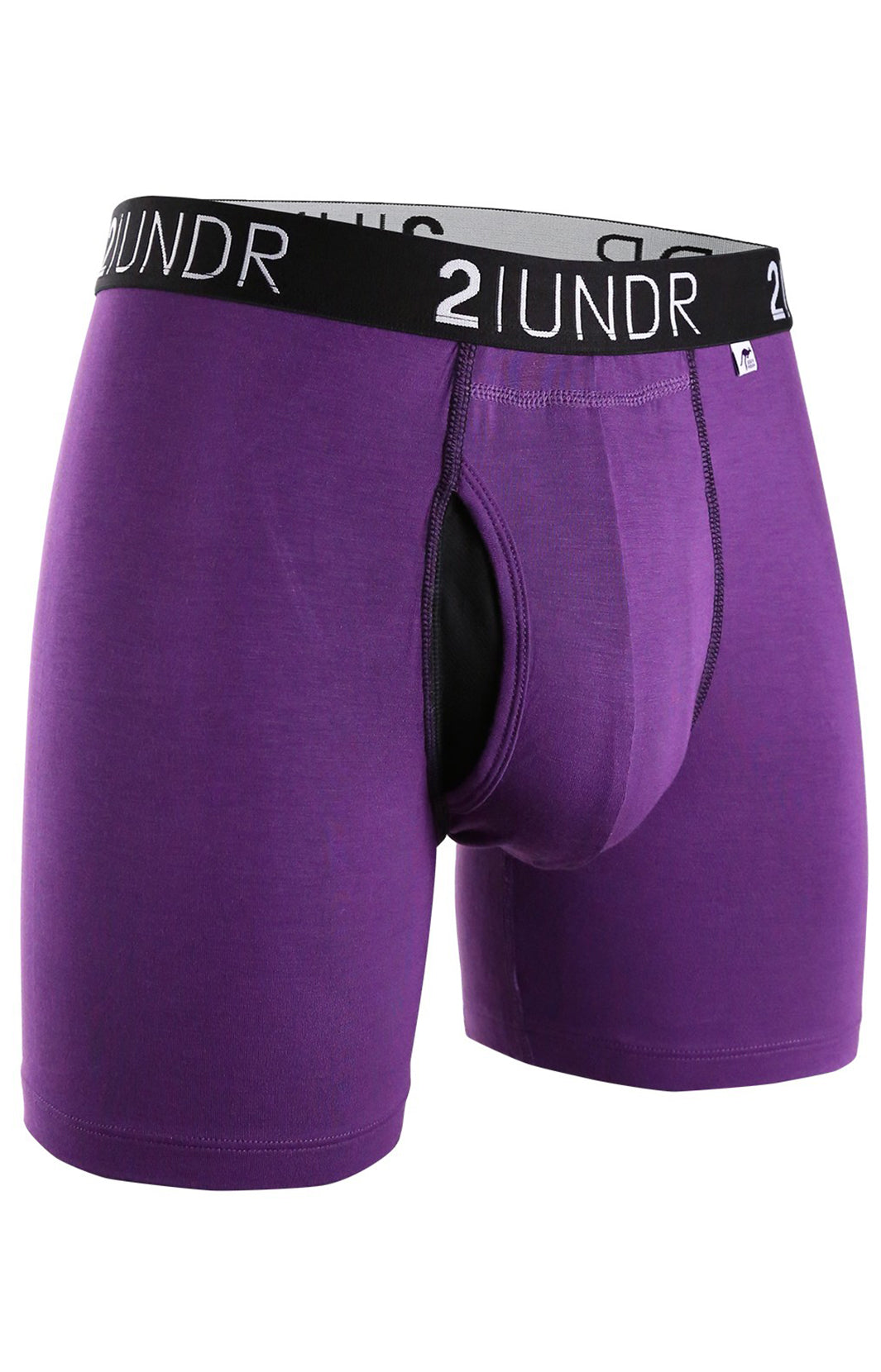 "SWING SHIFT 6"" BOXER BRIEF - PURPLE"
