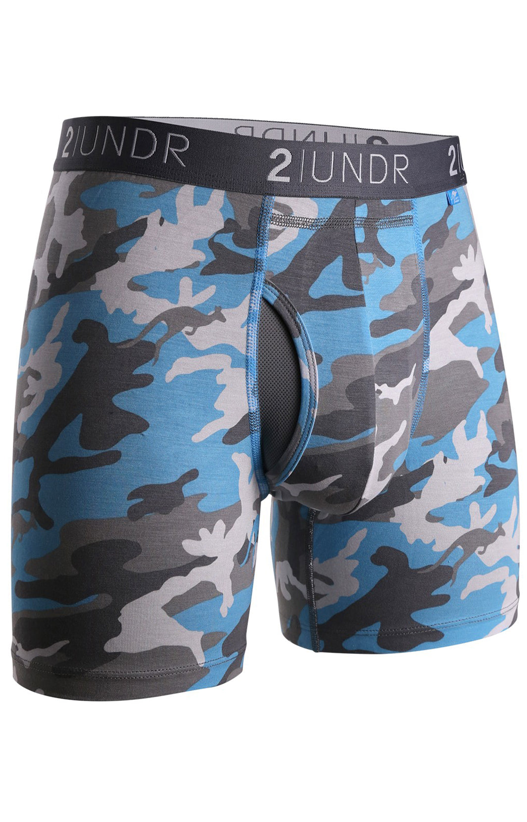 "SWING SHIFT 6"" BOXER BRIEF - ICE CAMO"