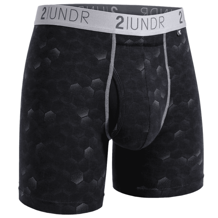 "SWING SHIFT 6"" BOXER BRIEF - HEXADOT"