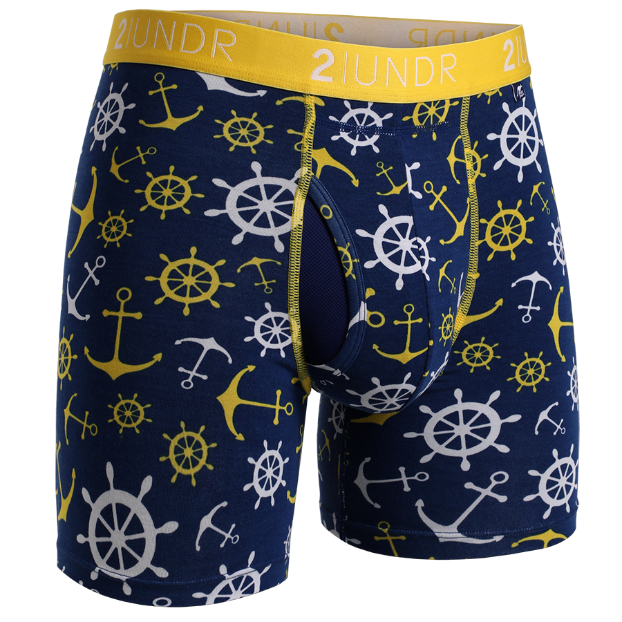 "SWING SHIFT 6"" BOXER BRIEF - WANCHORS"