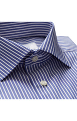PENCIL STRIPES NAVY SHIRT