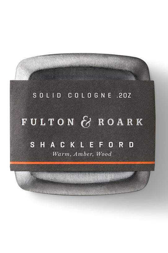 MENS SOLID COLOGNE SHACKELFORD FULTON & ROARK