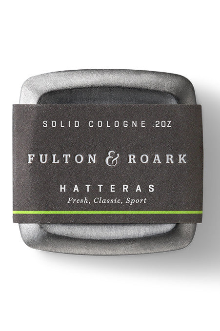 MENS SOLID COLOGNE FULTON & ROARK